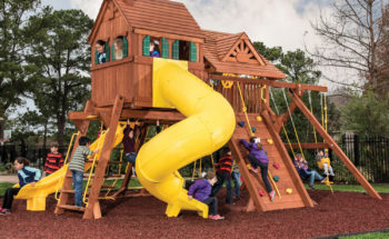 65 Jaguar MegaSized Playcenter RR Cabin Spiral Slide