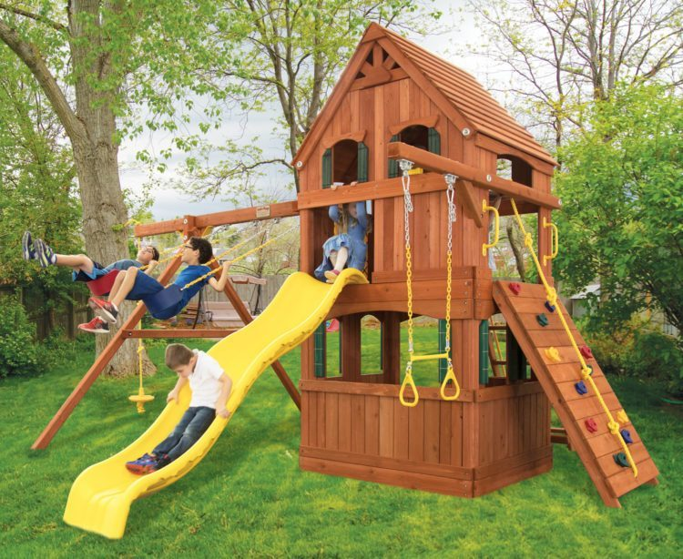 Parrot Island Fort Treehouse Panels Playhouse