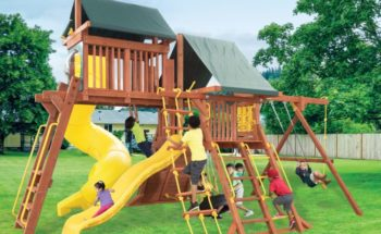 Parrot Island PlayCenter Config 5 Tarps