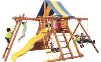 Parrot Island Playcenter XL 4x4 Monkey Bars