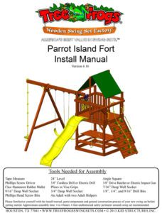 Parrot Island Fort - Installation Manual